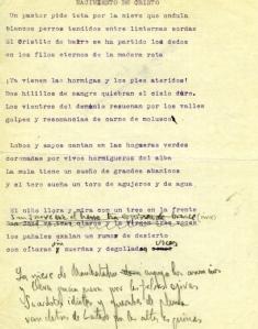 foto manuscrito